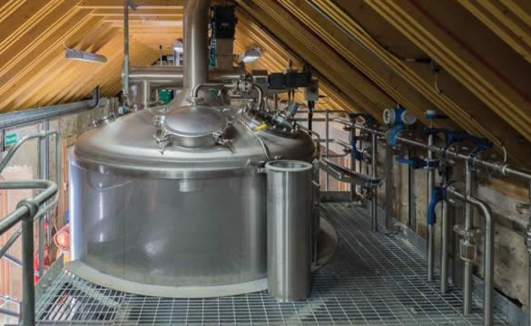 Private Estate Distillery one tonne mash system