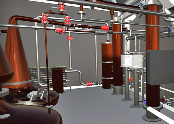 Raasay Distillery design vr