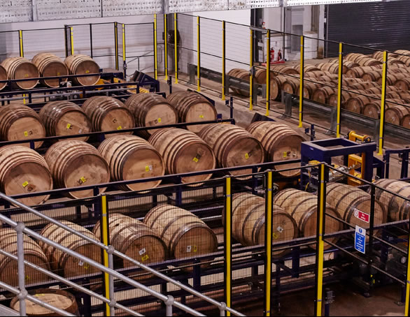 macallan distillery barrels